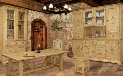 COLLECTION MEUBLE CHALET