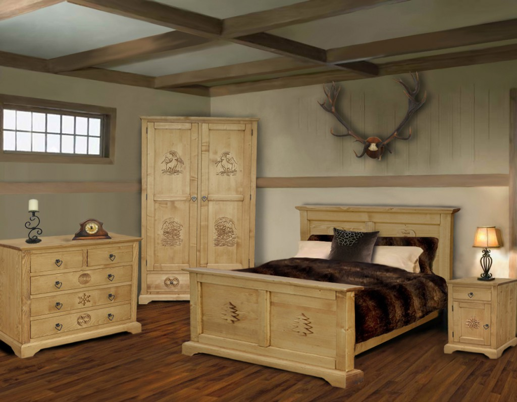 collection meuble chalet maria production. Black Bedroom Furniture Sets. Home Design Ideas